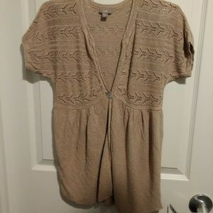 Sweaters - j.Hill tan sweater size small (A251)